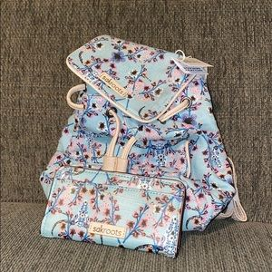 Handbags - Backpack purse with matching wallet